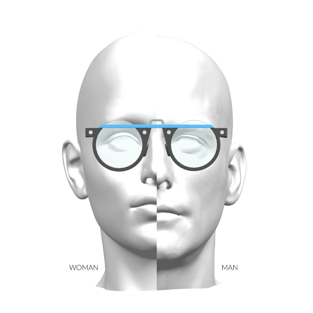 OcchialI ZEROUNDICI EYEWEAR S01r1 Designer Alberto De Siati