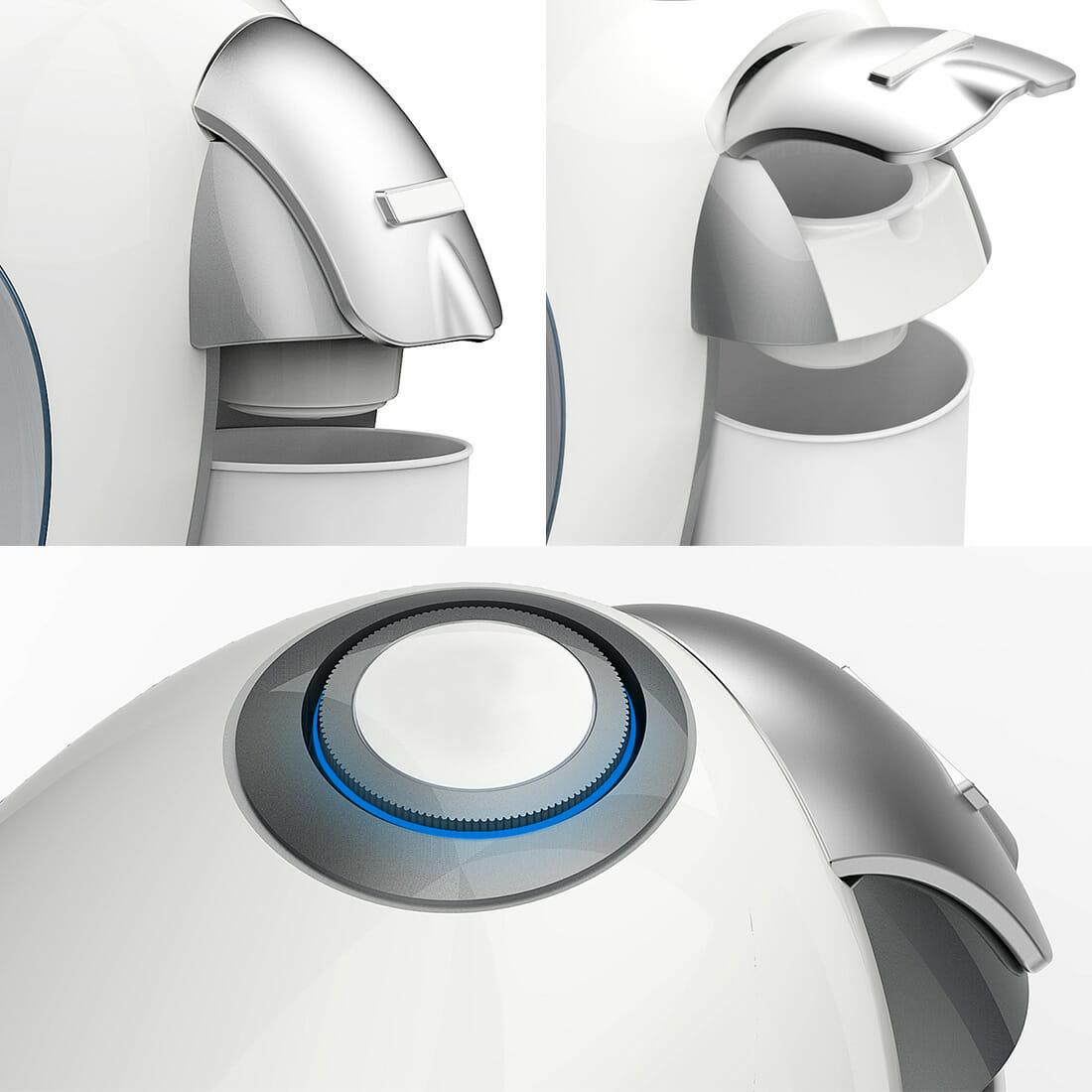 Rice water machine Designer Alberto De Siati