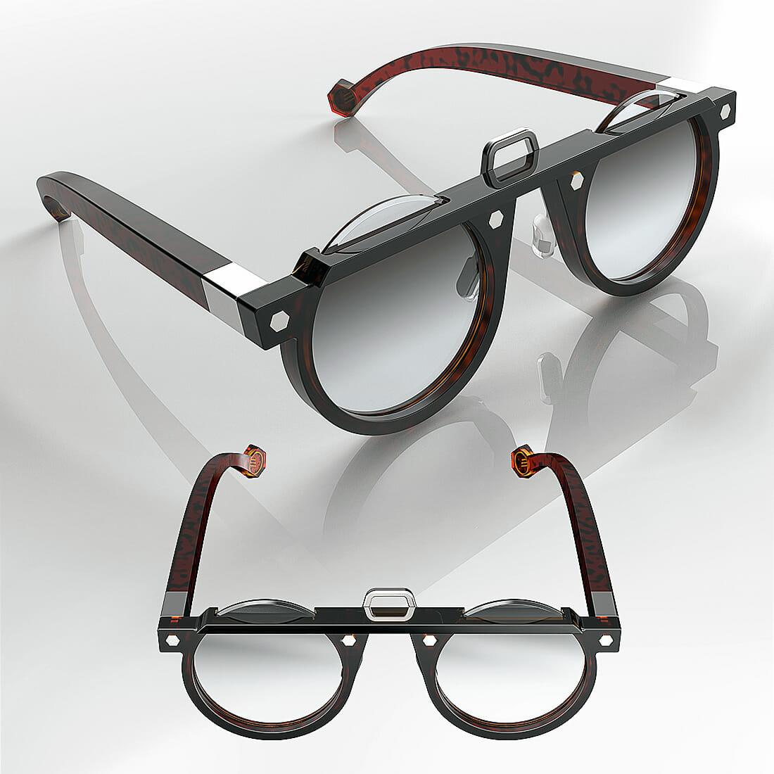 ZEROUNDICI eyewear 011 by Alberto De Siati