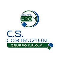 Logo CS COSTRUZIONI by Alberto De Siati