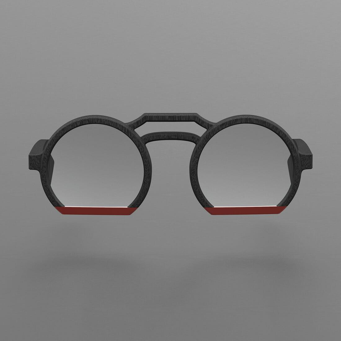 Occhiale ZEROUNDICI S04r1 Designer Alberto De Siati