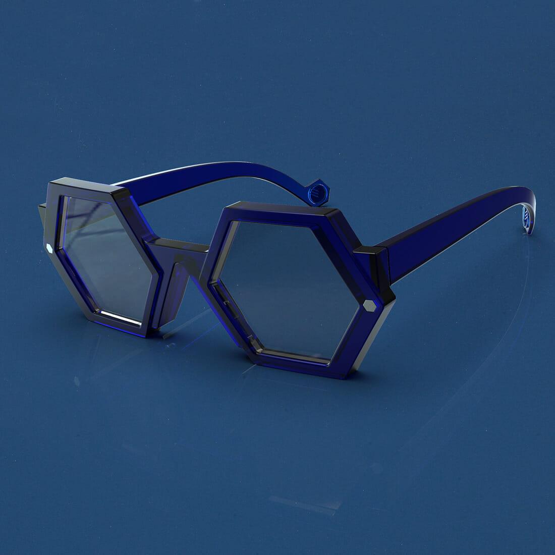 Occhiali ZEROUNDICI EYEWEAR S02r1 Designer Alberto De Siati