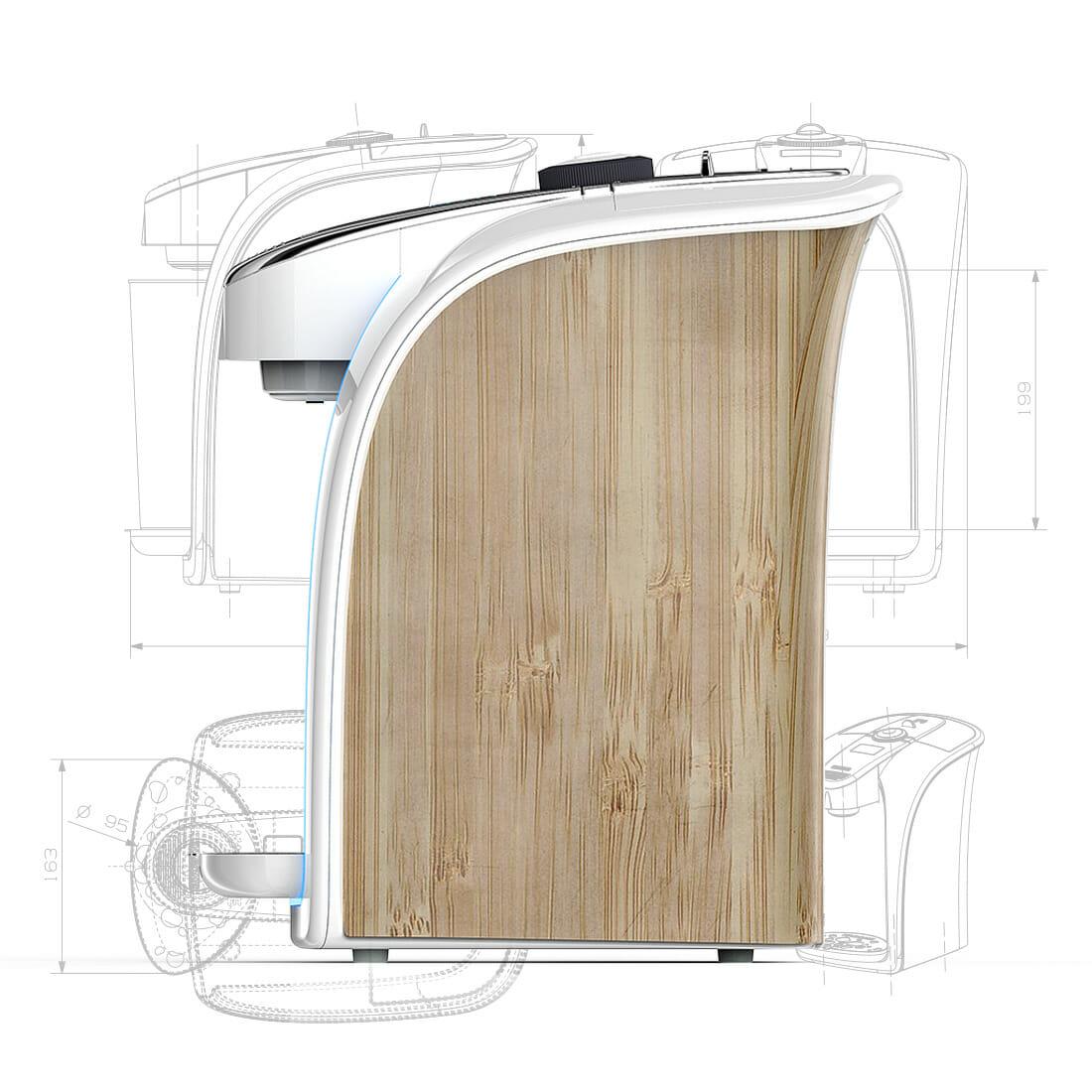 Calla Drink Water Machine Designer Alberto De Siati ALBDESIA.NET