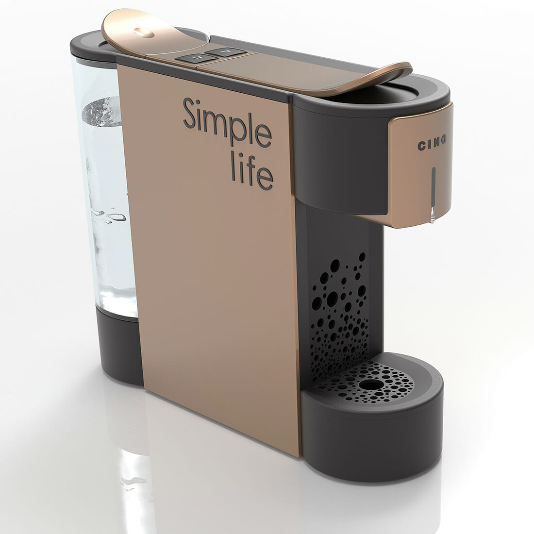 Coffee Machine SIMPLE by CINO Designer Alberto De Siati