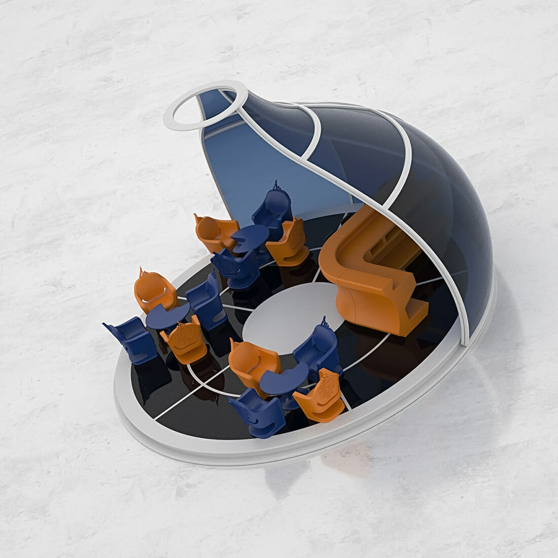 TAJINE Structure Event Designer Alberto De Siati