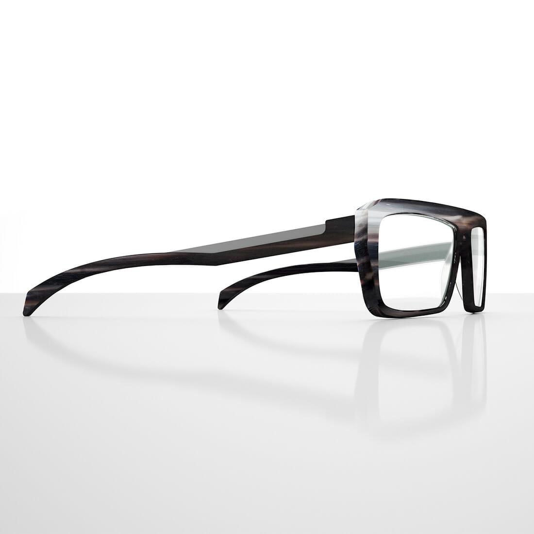 Occhiali eyeglasses HornGain Alberto De Siati
