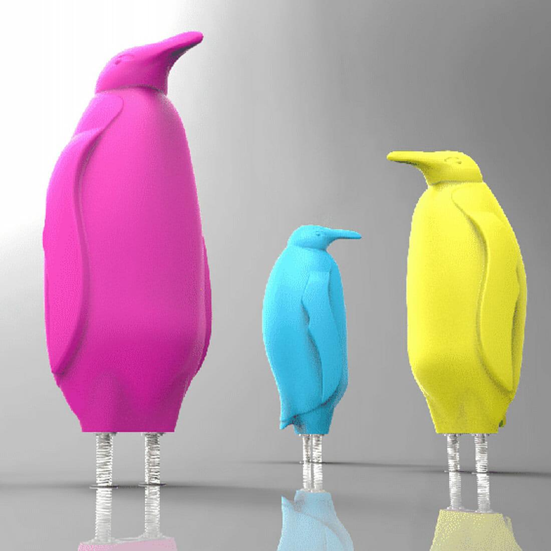 Pinguini Salerno per IREN by NOVATEK Designer Alberto De Siati