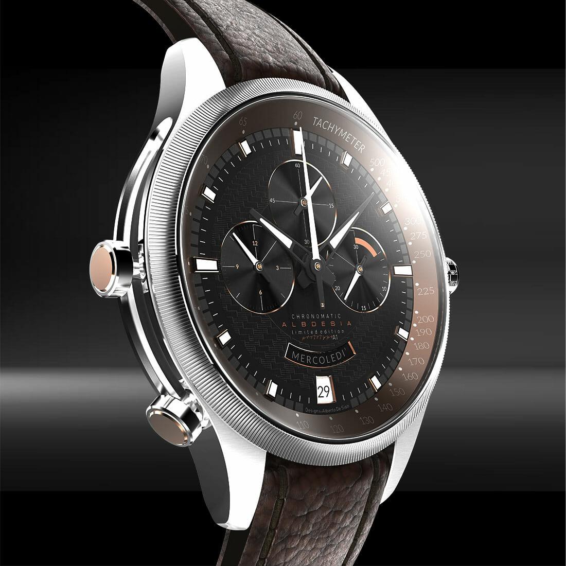 rotate watch a1 Designer Alberto De Siati